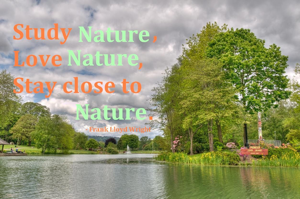 Nature Love Quotes And Sayings