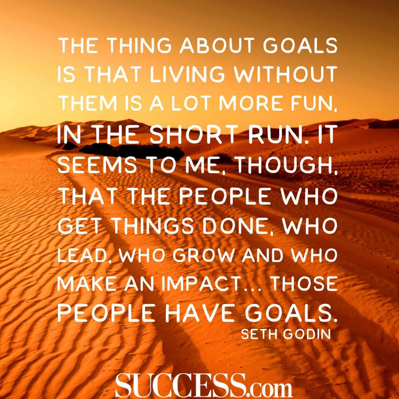 Quotes About Successful Goal Setting