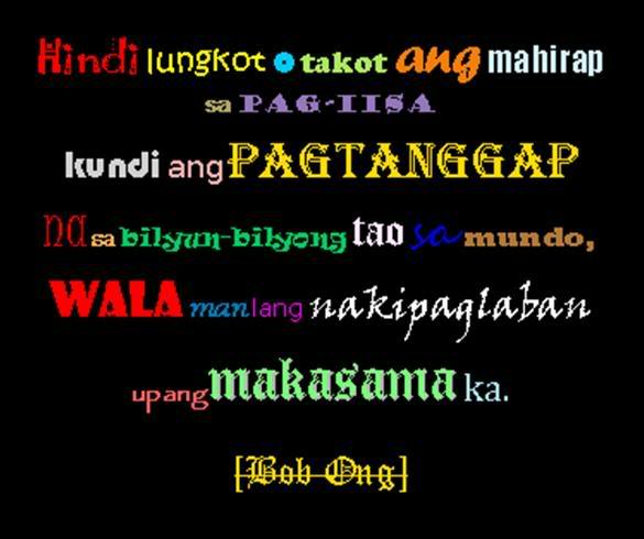 Bob Ong Tagalog Love Quotes