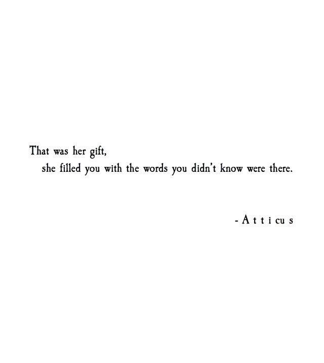 A T T I C U S  C B Poetic Love Quotesi