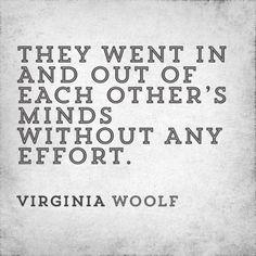 Virginia Woolf Love Quote