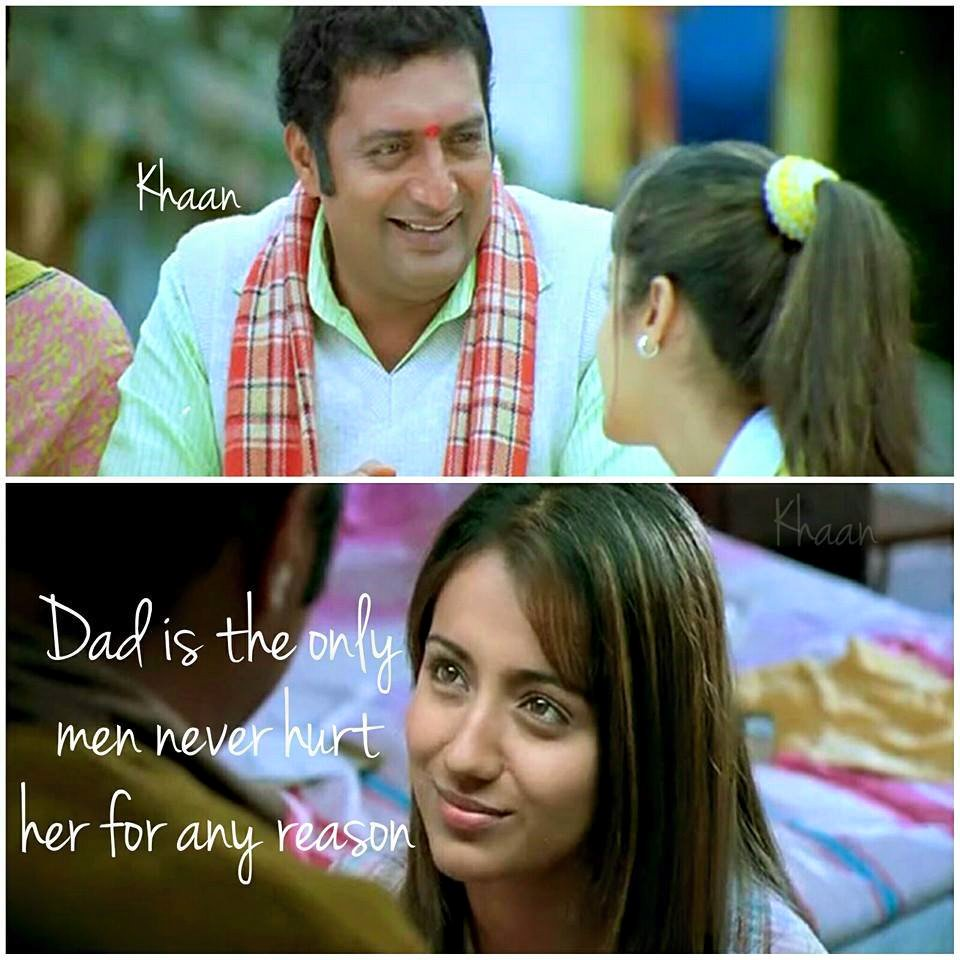 Dad Is The Only Men Never Hurt Her For Any Reason
