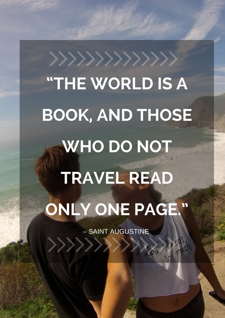 Quotes For The Traveling Couple Saint