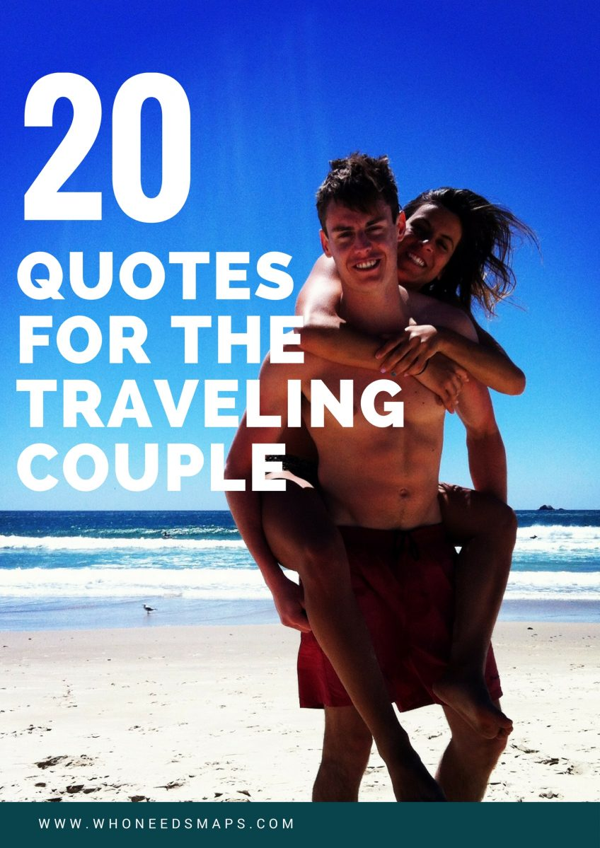 Quotes For The Traveling Couple Banner