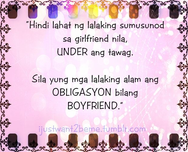 Cute Boyfriend Quotes For Tagalog Am Just Someone
