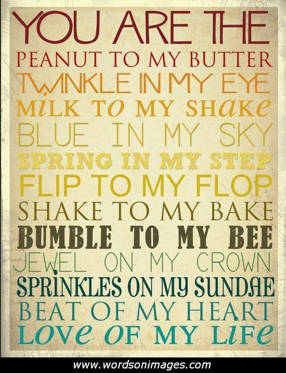 Exceptionnel Rhyming Love Quotes