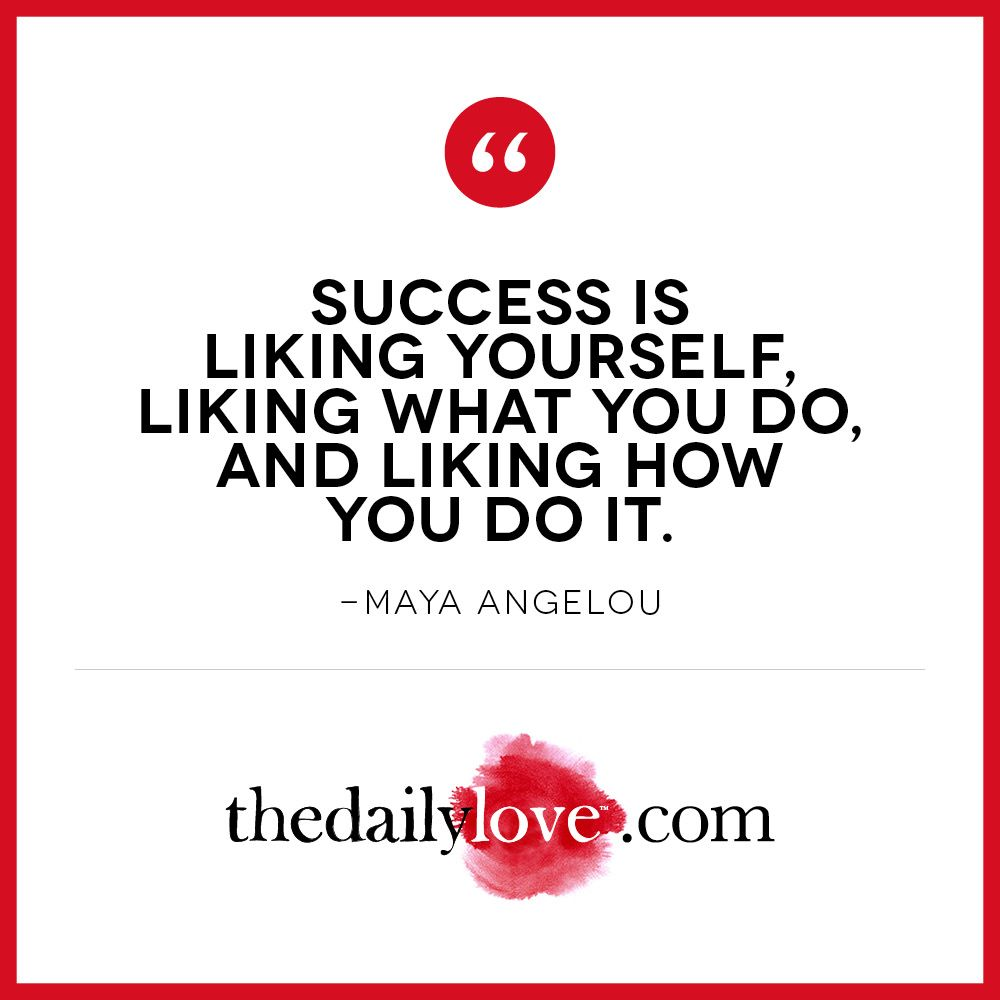 Visual Inspiration Success Is Liking How You Do It Daily Love With Mastin Kipp