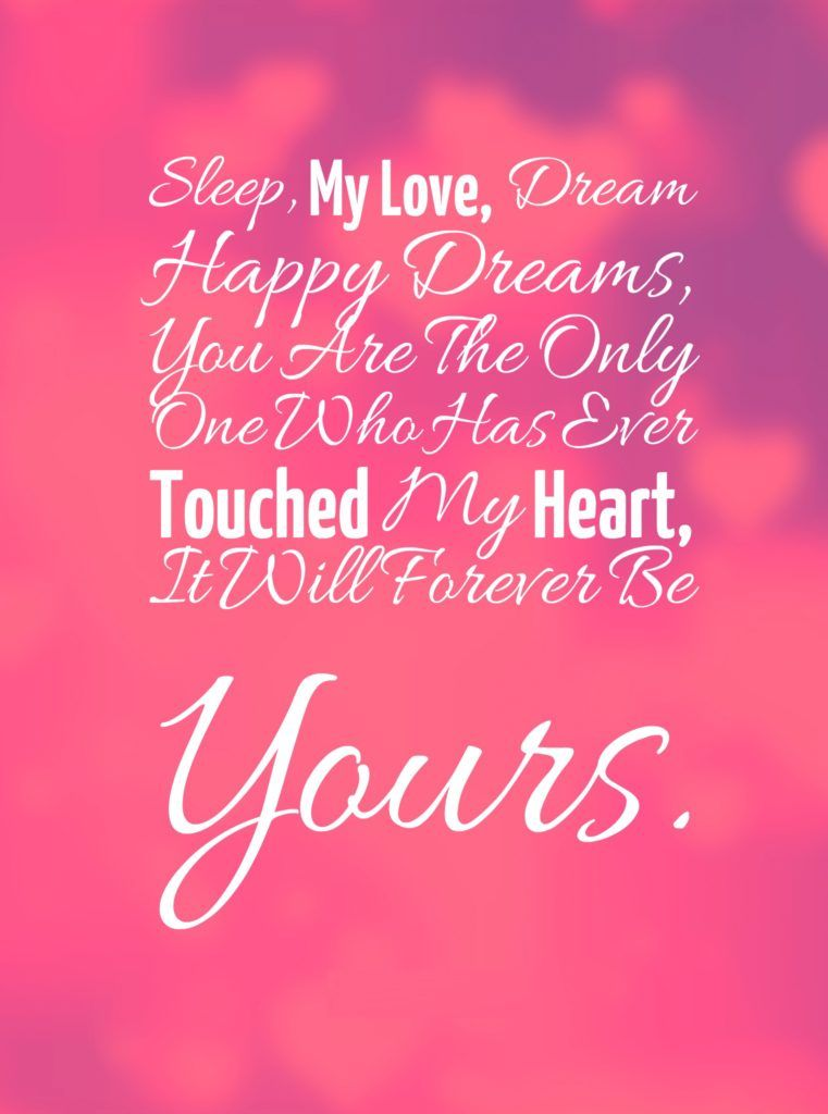Good Night Quotes For Her Wife And Girlfriend
