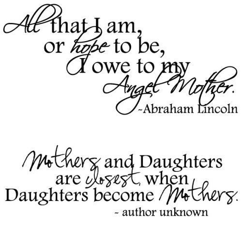Mothers Day Quotes From Daughter Tumblr