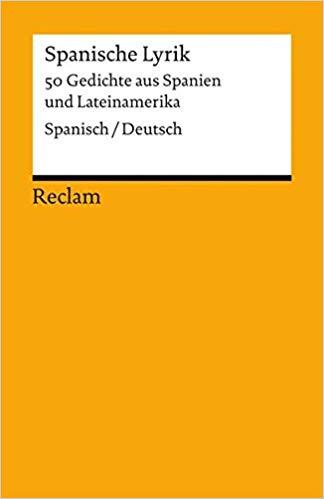 Spanisch Deutsch Reclams Universal Bibliothek Band  Amazon De Jurgen Von Stackelberg Bucher