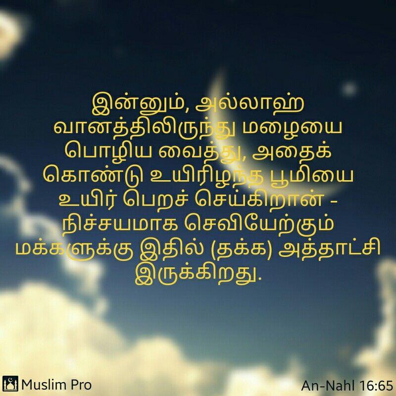 Quran Verse Tamil