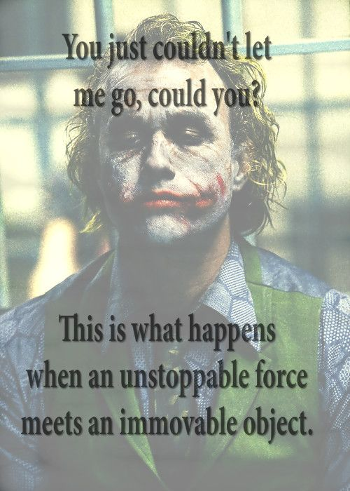 Im Not A Monster Joker Love Quotesbatman