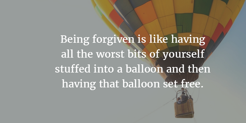 Let The Worst Part Fly Away Just Like Balloons