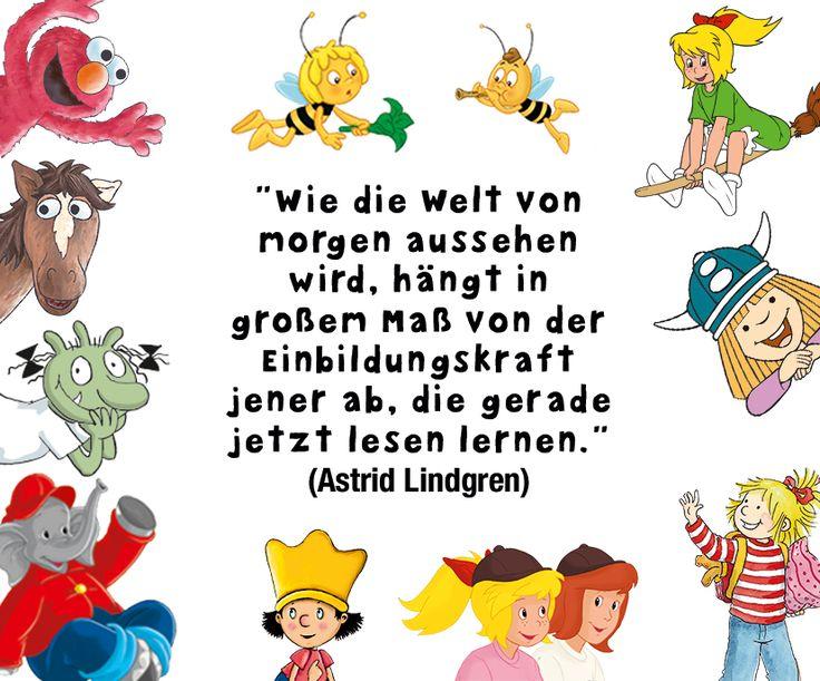 Wunderschones Zitat Zu Bucher Von Astrid Lindgren