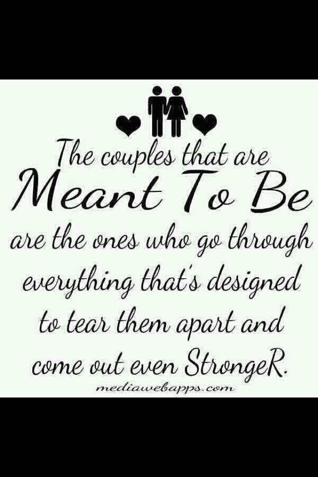 Meant To Be Inspiration Quotes Sotrue True Love So True Journey