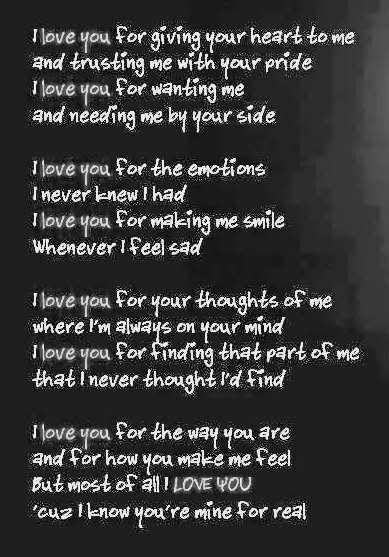 Birthday Love Poems For Boyfriend True Gangster Sad Love Poems   Jpg Love Sad Poems
