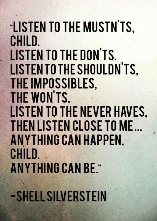 Shel Silverstein Best Children Bookschildren Book Quoteschildren