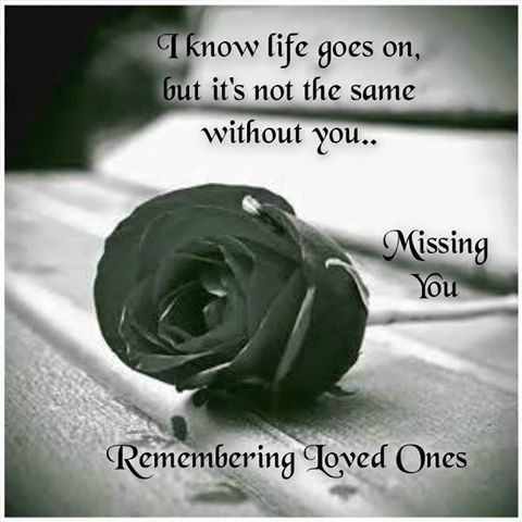 Remembering Loved One Love Quotes Quote Miss You Sad Rose In Memory Of Loved Ones