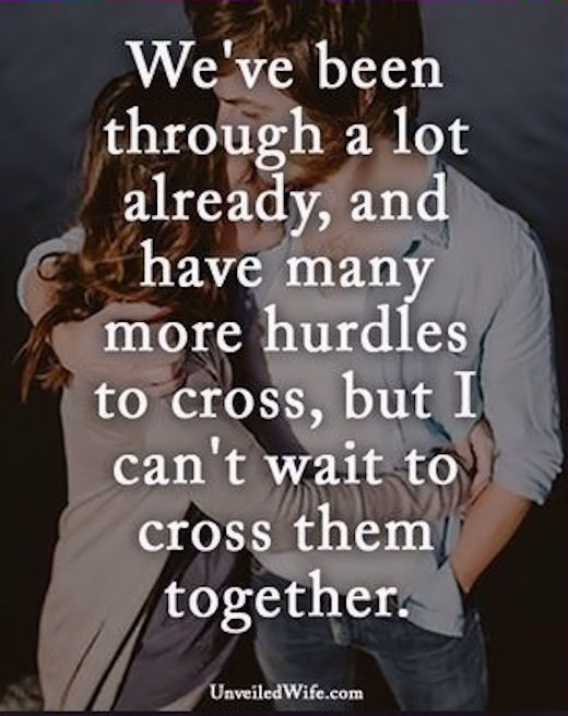 We Can Get Through Anything With Each Others Support Cross Them Together Love Love Quotes Strong Couple Quotesfaithful Relationship