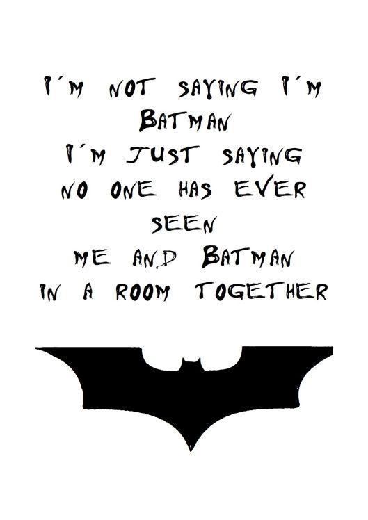 Heimatbaum Wild Schon Quotes Batman