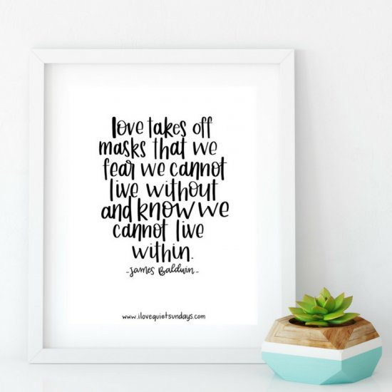 Love Quotes Free Printables