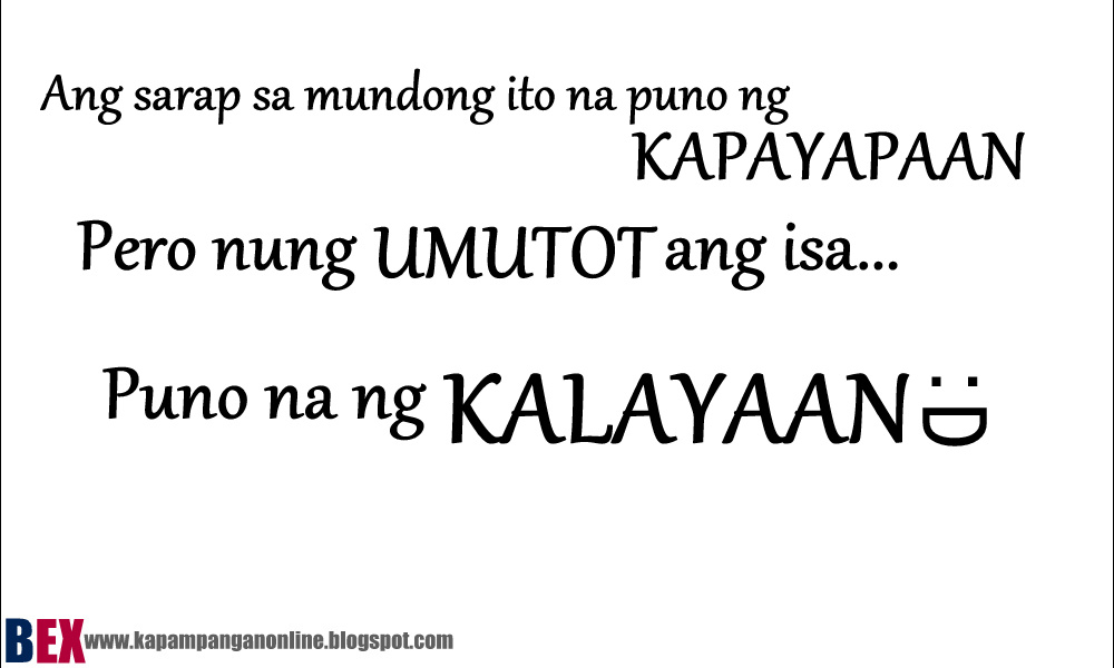 Love Quotes For Her Kapampangan Kapampangan Tagalog Jokes