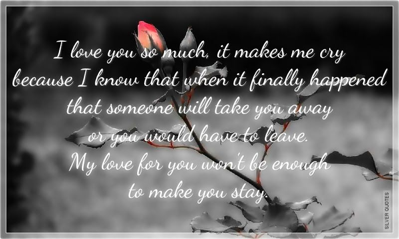 Sad Love Quotes Quotes Love Quotes Sad Quotes Sweet Quotes Friendship