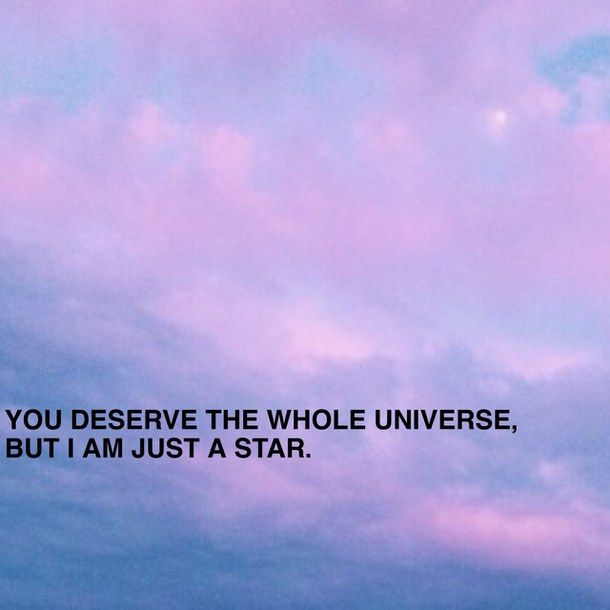 Aesthetic Love Love Quote Moon Pink Purple Quote Sky