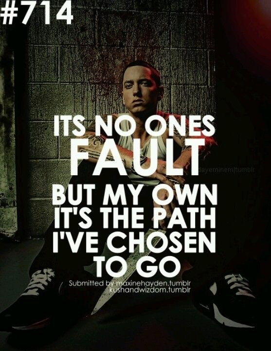 Cool Eminem Quote For A Tat
