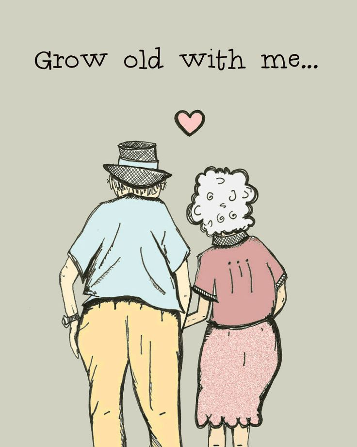 Grow Old With Me Funny And Sweet Anniversary Card En Ement Card Wedding Card Via Etsy