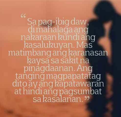 Beautiful Tagalog Love Quotes With Images