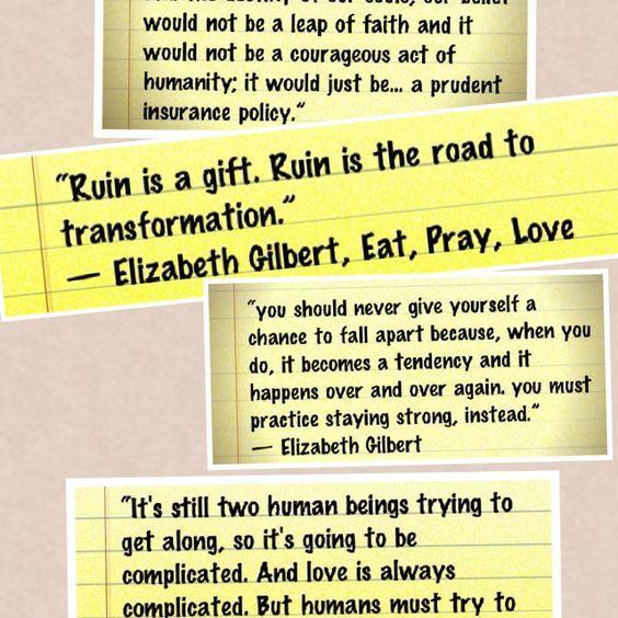 Eat Pray Love Trailer Eat Pray Love Pinterest Liz Gilbert And Movie