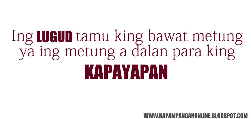 Kapampangan Quotes About Love Google Search