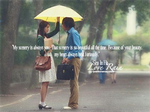 Drama Quotes Love Rain