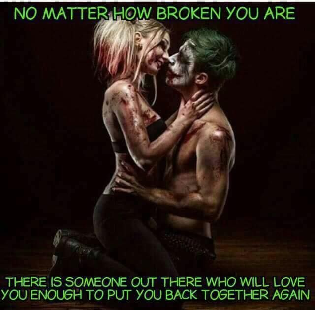 Or Just Join You In Your Crazy  C B Harely Quinn And Jokerharley