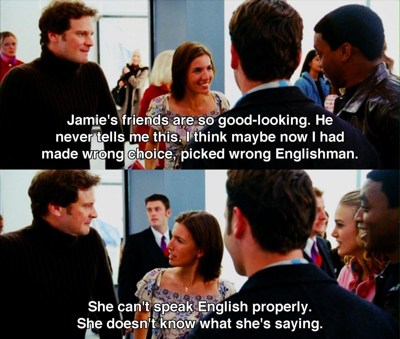 Wrong Englishman Love Actually