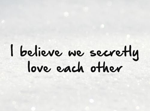 Secret Love Quotes Sayings