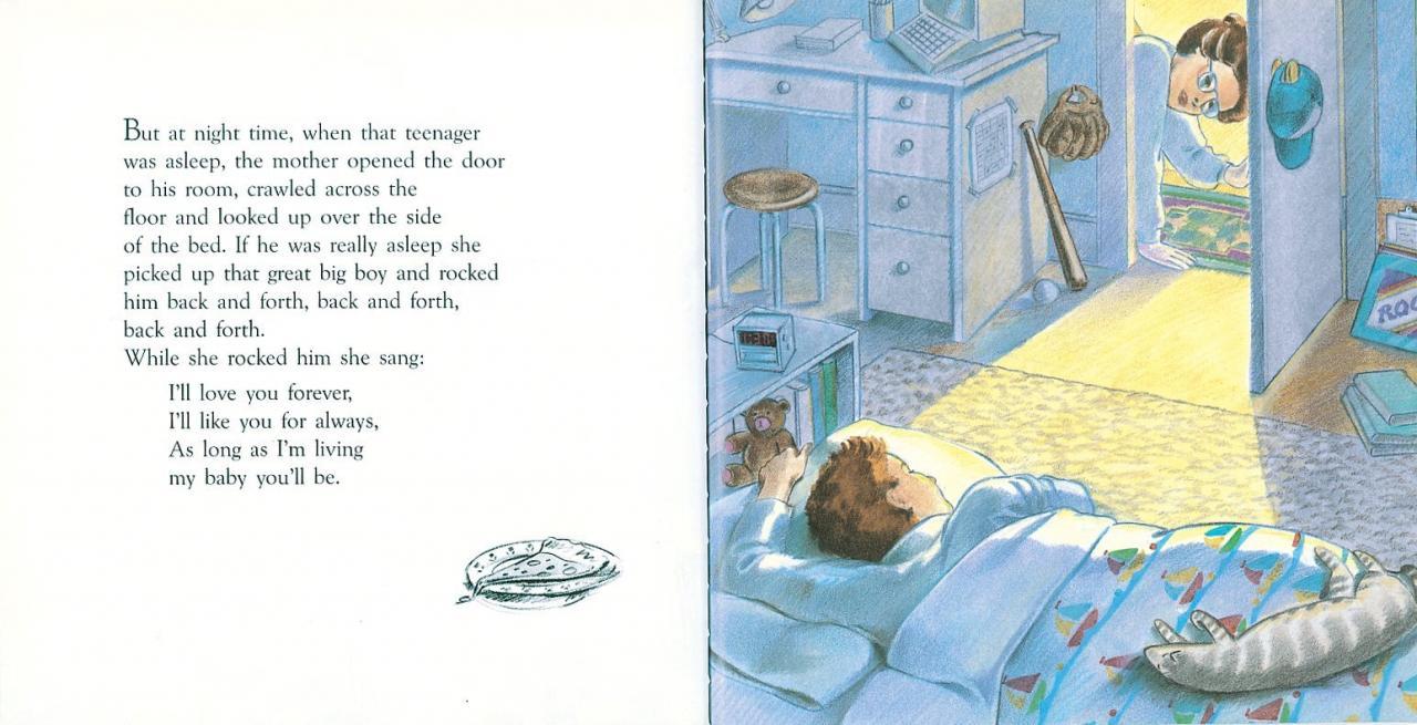 Love You Forever Robert Munsch Sheila Mcgraw  Amazon Com Books