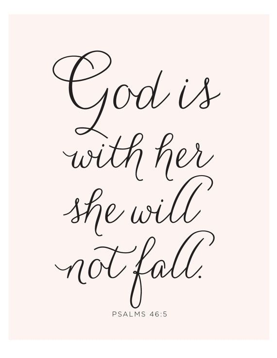 Psalms  Print Bible Verse Is Within Her She Will