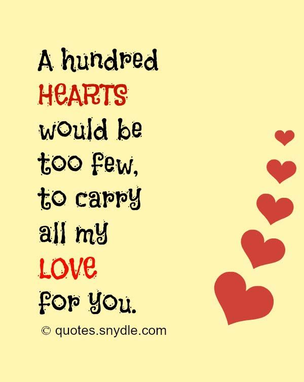 Really Sweet Love Quotes For Him And Her With Picture