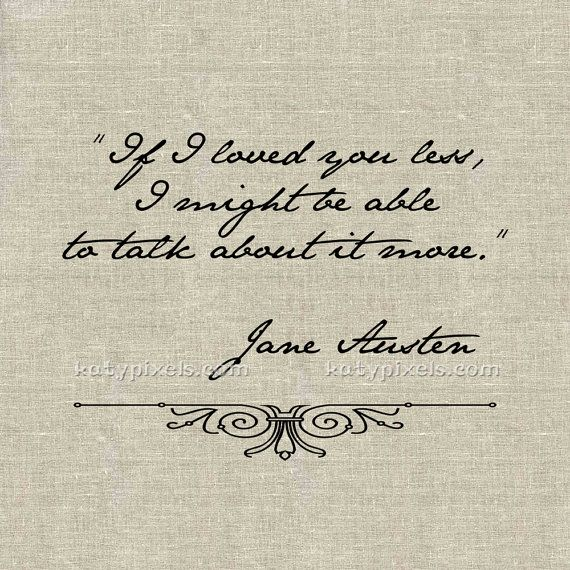 Love Quotes From Jane Austen Quotesgram
