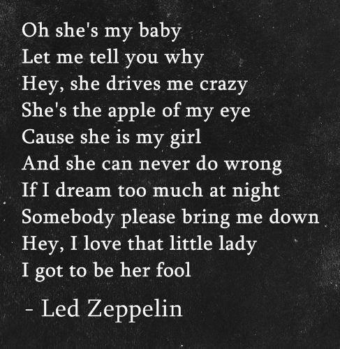 Im Gonna Crawl Led Zeppelin