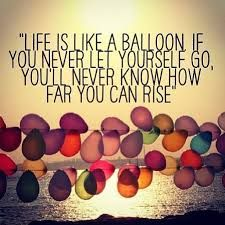 Cute Balloon Quote