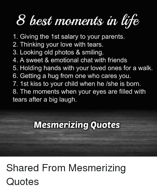 Friends Life And Love  Best Moments In Life  Giving The