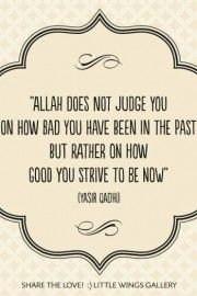 Yasir Qadhi Allah Does Not Judge You On Islamic Inspirational Quotesreligious