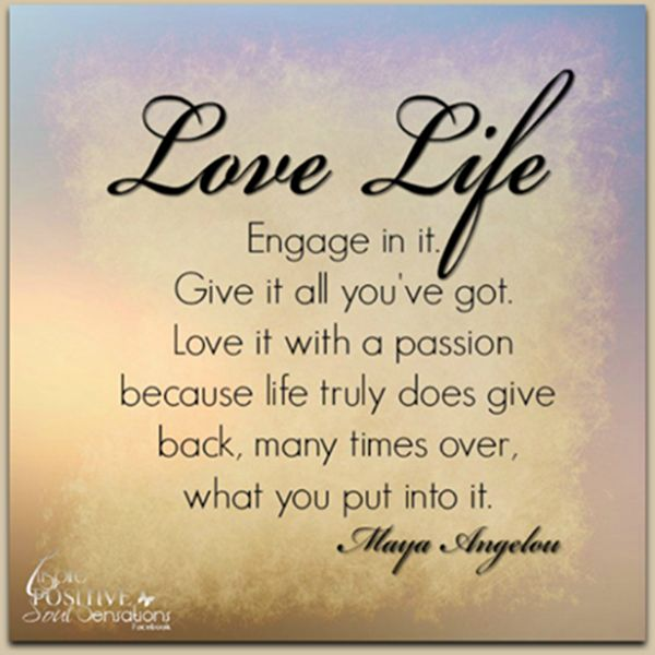 Love Life En E In It V Quotes Daily Famous
