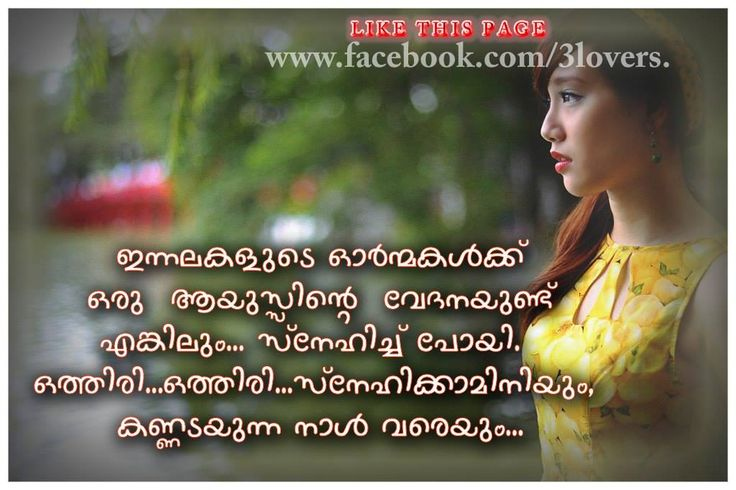 Malayalam Love Quotes Delectable Love Quotes For Her In Malayalam Ttgdzfn Malayalam Pinterest