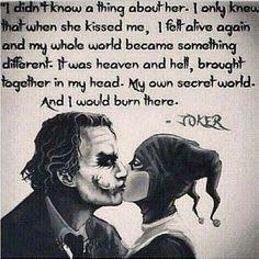 Thejoker Joker Harleyquinn Harlyquinn Quinn Harley Crazy Crazylove