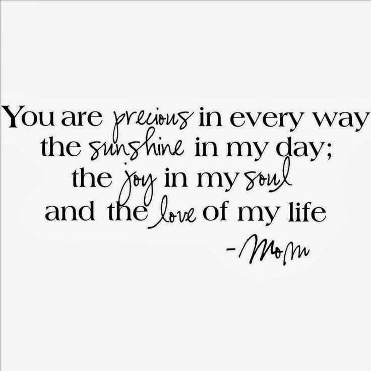 My Sons You Are Precious In Every Way The Sunshine In My Day The Joy In My Soul And The Love Of My Life Mom Wall Sayings Vinyl Lettering Home Decor Decal