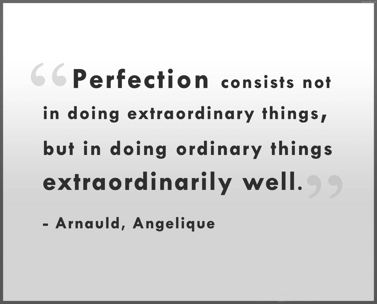 Perfection Quotes Sayings Pictures And Images